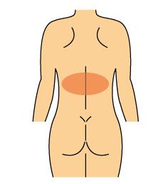 胸腰椎移行部の痛み